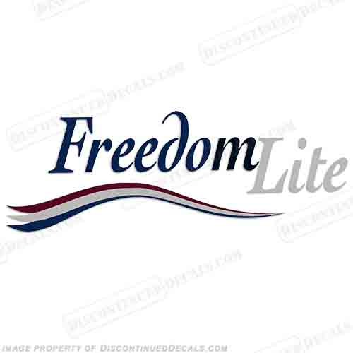 Freedom Lite RV Decals