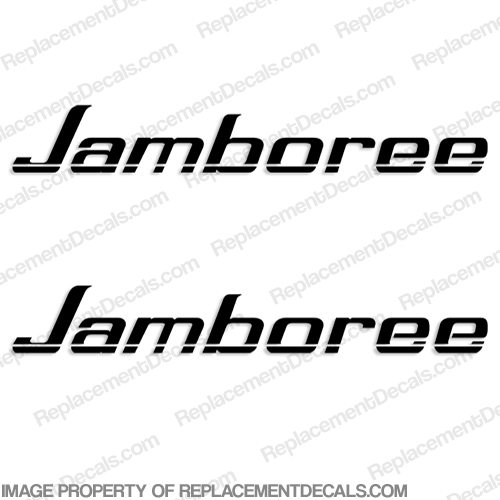 Jamboree by Fleetwood RV Logo Decals (Set of 2) Any Color!