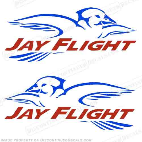 Jayco Jay Flight RV Decals (Set of 2)