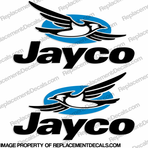 Jayco Logo RV Decals (Set of 2)
