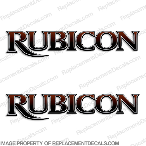 Rubicon by Dutchmen RV Decals (Set of 2)