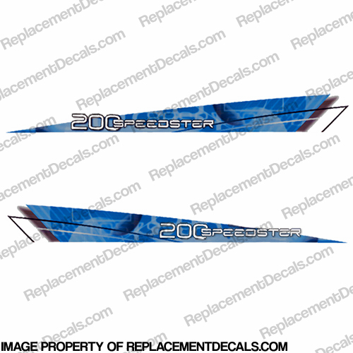 SeaDoo 2009 200hp Speedster Jet Boat Decals