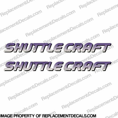 ShuttleCraft Decals (Set of 2)