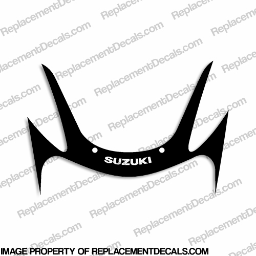 2001 Suzuki GSX-R600 Front Upper Fairing Decal