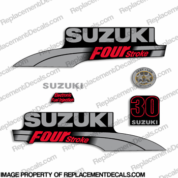 Suzuki 30hp DF30 Decal Kit