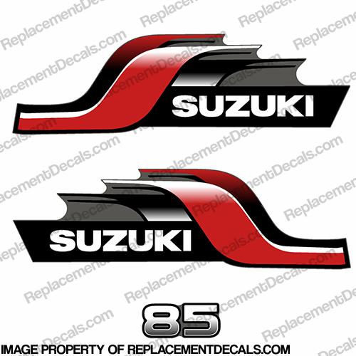 Suzuki stickers gallery for Custom outboard motor decals