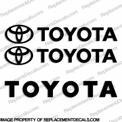 Toyota Forklift Decal Kit - Any Color!