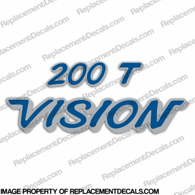 Vision Boats 200T Decal