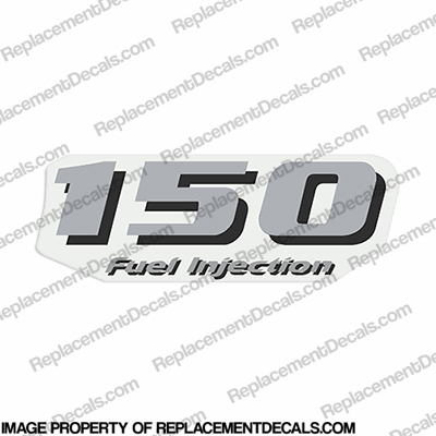 Yamaha single 150 fuel injection decal rear for Yamaha replacement decals