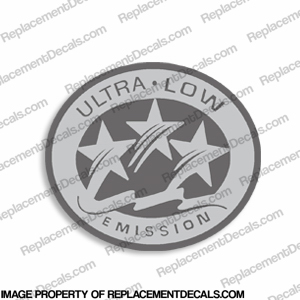 "Yamaha 3 Star ""Ultra Low Emissions"" Decal"