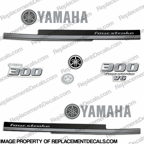 Yamaha decals page 4 for Yamaha replacement decals