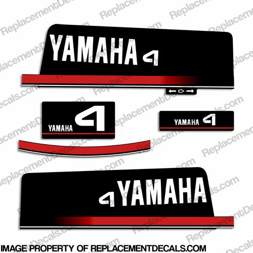 Yamaha decals for Yamaha replacement decals