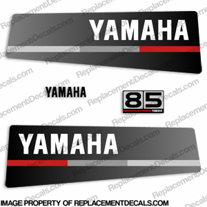 Yamaha 85hp decals for Yamaha replacement decals