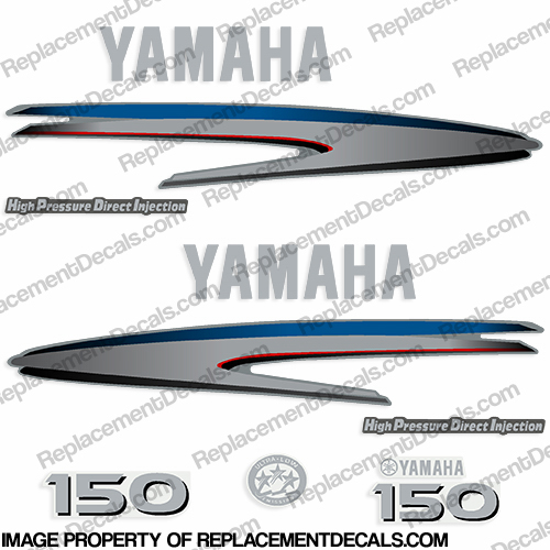 Yamaha 150hp HPDI Decal Kit