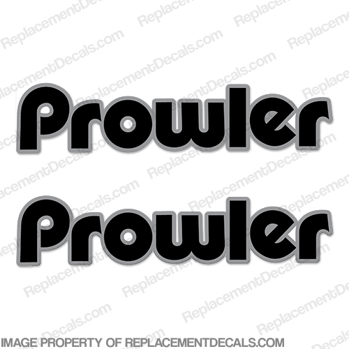 Fleetwood Prowler Logo RV Decals (Set of 2) - 2 Color