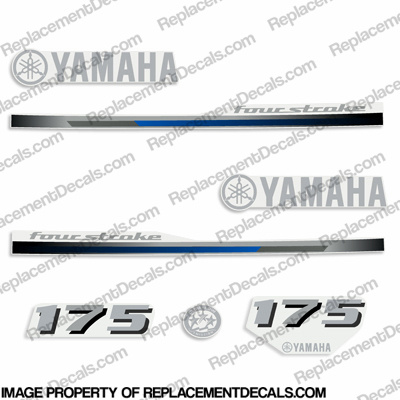 Yamaha 175hp Decals - 2013 Style