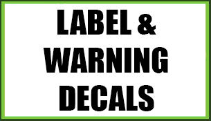 Label/Warning Decals