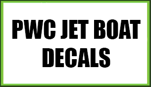 PWC Jet Boat Decals