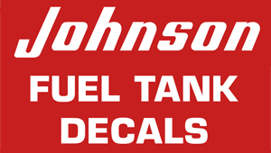 Johnson Fuel Decals