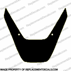 929 Upper Fairing Decal (Black)