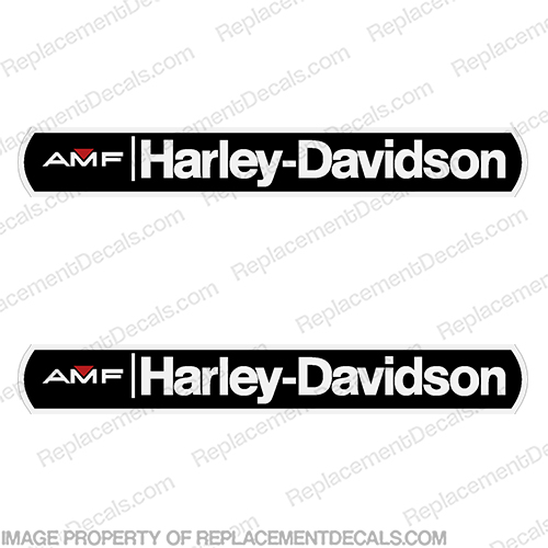 AMF (Harley-Davidson) Decals - Set of 2  harley, davidson,