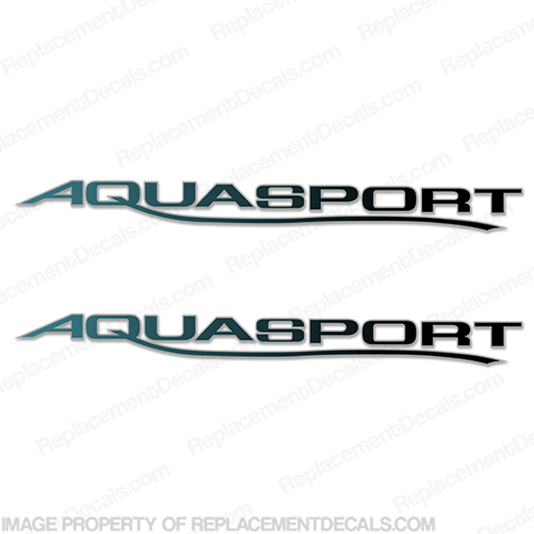 Aquasport 205 Osprey Boat Decals (Set of 2)