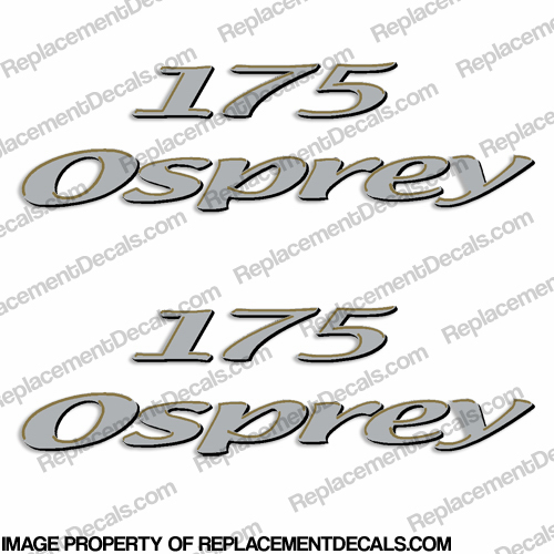 Aquasport Osprey 175 Boat Decals - (Set of 2)