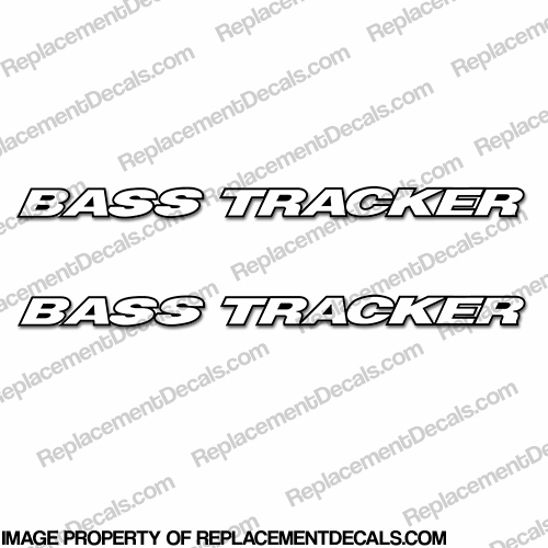 Bass Tracker Logo Decals (Set of 2)