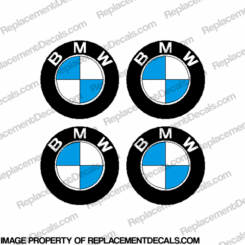BMW Decal (set of 4)