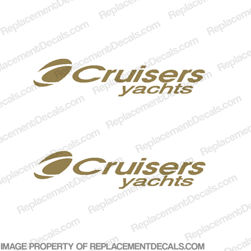 Cruiser Yachts Boat Decals (Set of 2)