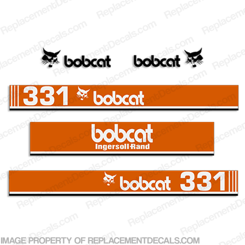 Bobcat 331 Mini Excavator Decals - E-BOB-MINI-331