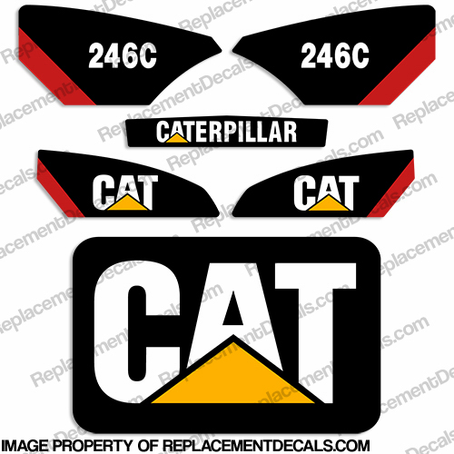 Caterpillar 246C Decal Kit