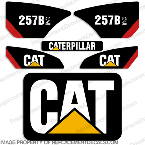 Caterpillar 257B-2 Decal Kit 257, b, 2, 257b2