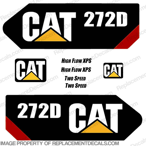 Caterpillar 272D Decal Kit