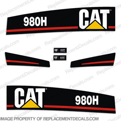Caterpillar 980H Wheel Loader Decal Kit 980 h, 980-h