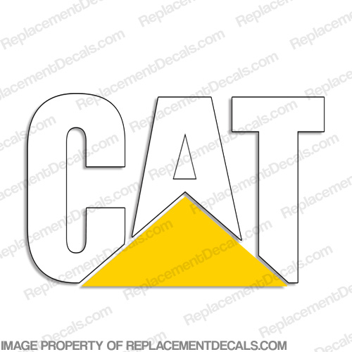 Caterpillar Logo Hood Decal