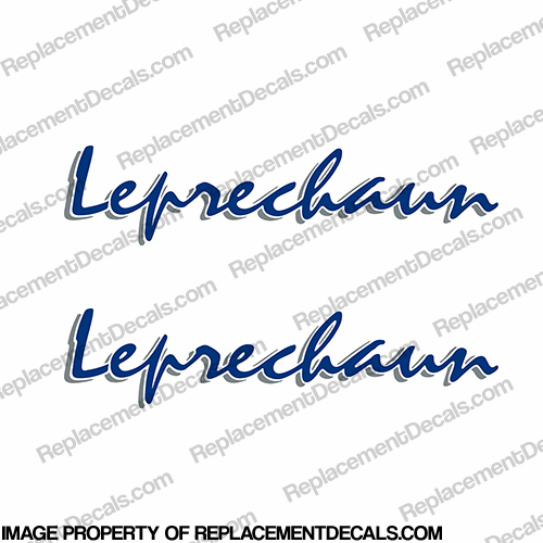 Coachmen Leprechaun RV Decals - 2002 (Set of 2) - Any Color!