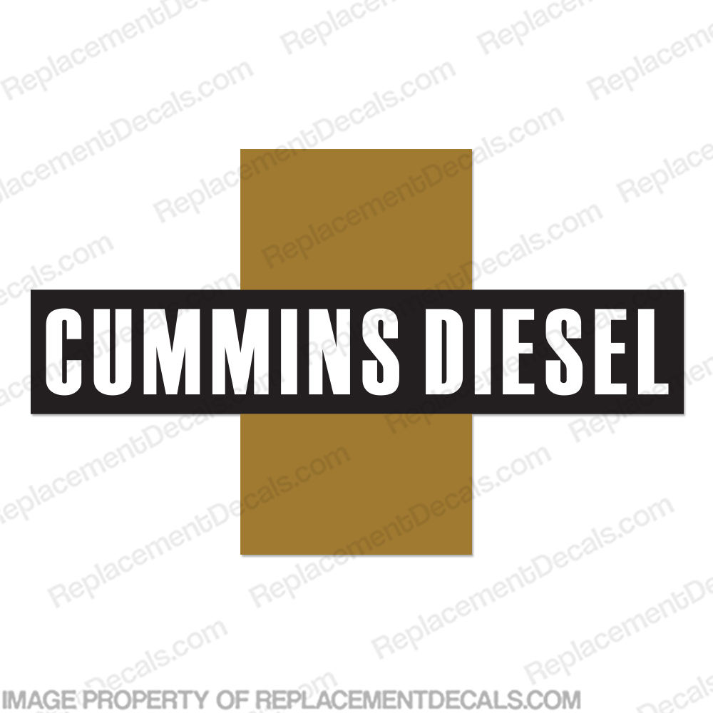 Cummins Diesel Logo Decal
