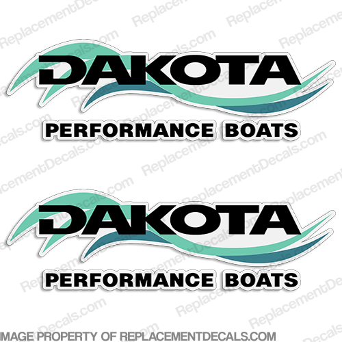 Dakota Performance Boats Decals (Set of 2)