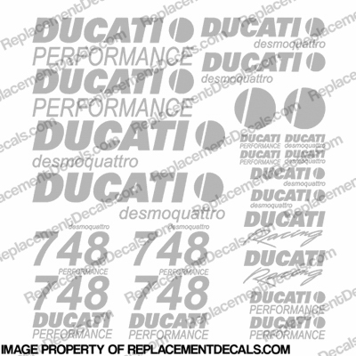 Ducati 748 Desmoquattro Decal Kit - Any Color!