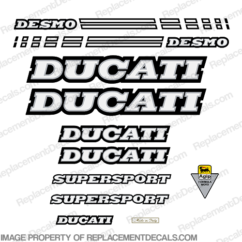 Ducati 900 Supersport Decal Kit