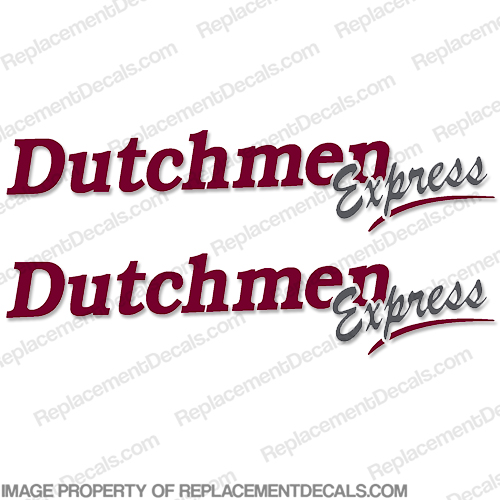 Dutchmen Express Class-C RV Decals - Set of Two