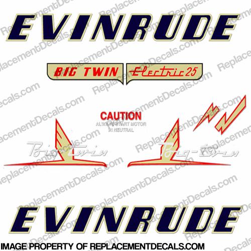 Evinrude Decals