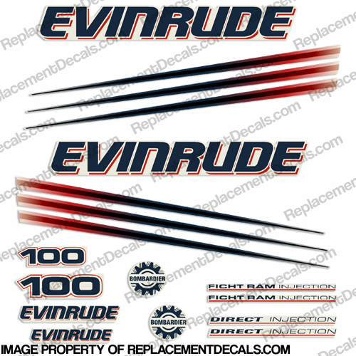 Evinrude Decals, Page 4