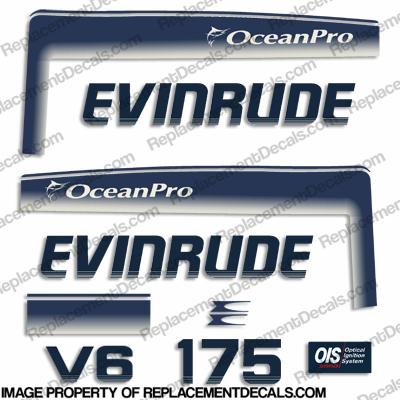 "22/"" Custom EVINRUDE WAVE Decal Sticker L@@K"