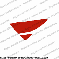 F4 Left Tank Wing Decal (Red)