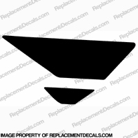 F4i Right Tank Wing Decal (Black)