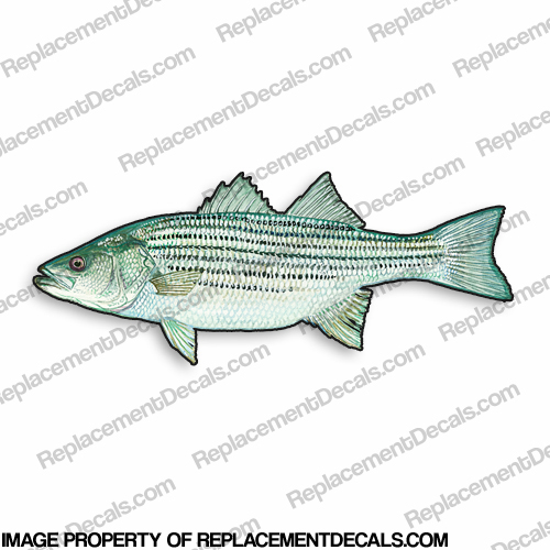 Bass Decal - 9""