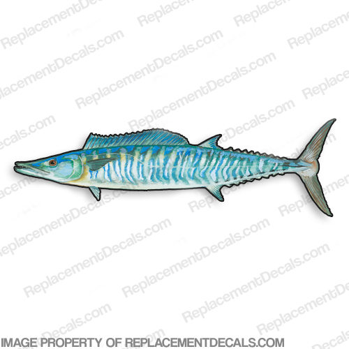 Wahoo Decal - 9""
