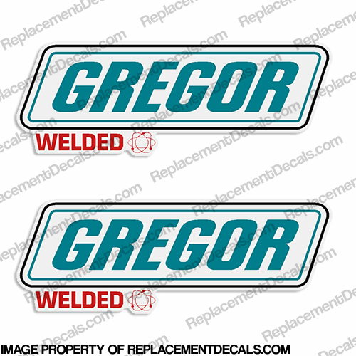 Gregor Boat Decals (Set of 2) - Style 2